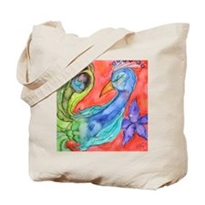 Peacock by Vanessa Curtis Tote Bag