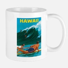 Hawaii, Travel Vintage Poster Mugs