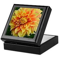 Unique Dahlias Keepsake Box