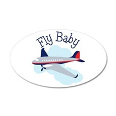 Fly Baby Wall Decal