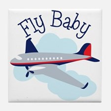 Fly Baby Tile Coaster