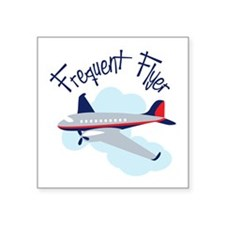 Frequent Flyer Sticker