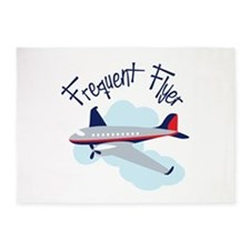 Frequent Flyer 5'x7'Area Rug