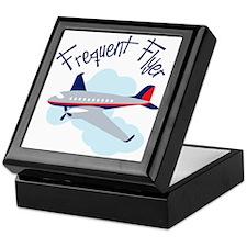 Frequent Flyer Keepsake Box