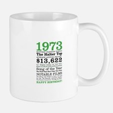 1973 Birthday trivia Mugs