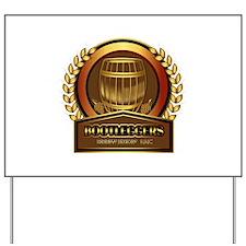 Bootleggers Logo Yard Sign