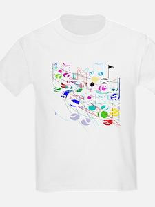 NOTES BLK COLOR 3 T-Shirt