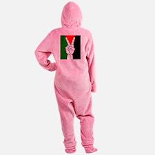 free palestine Footed Pajamas