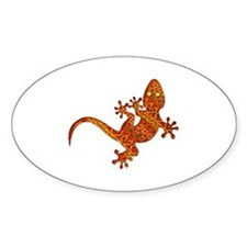 Gordon Gekko Aztec Lizard Decal