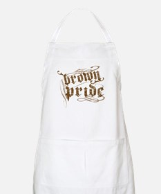 Brown Pride BBQ Apron