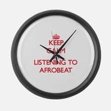 Cute Afrobeat Large Wall Clock