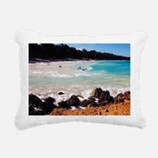 Cute Body art Rectangular Canvas Pillow