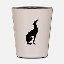 Greyhound Shot Glass