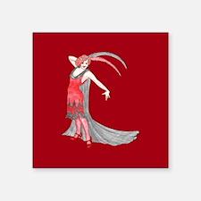 Scarlet Flapper Sticker