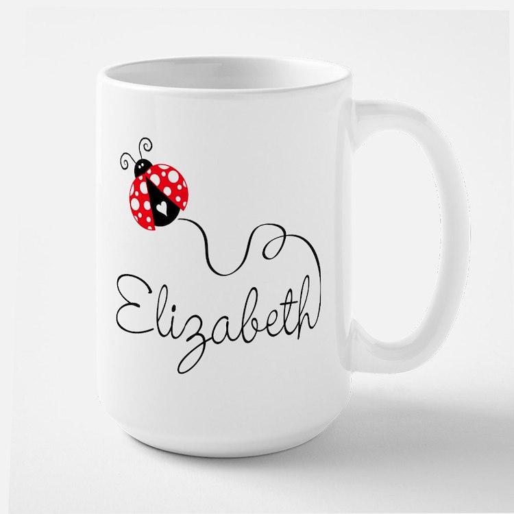 Ladybug Elizabeth Large Mug
