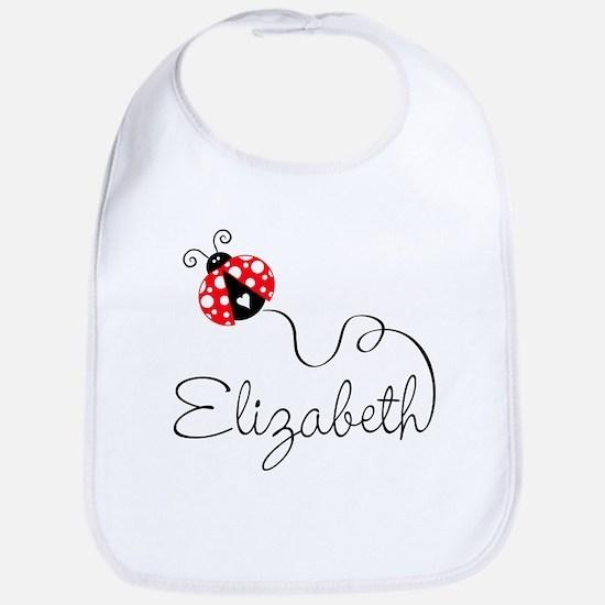 Ladybug Elizabeth Bib
