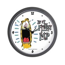 Friday Garfield Wall Clock