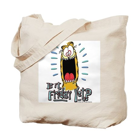 Friday Garfield Tote Bag