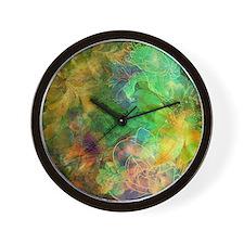 Unique Floral Wall Clock