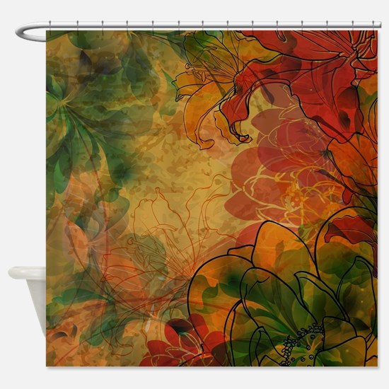 Funny Vintage Shower Curtain