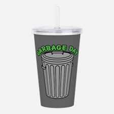 Garbage Day Trash Can Acrylic Double-wall Tumbler