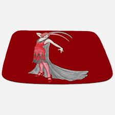 Scarlet Flapper Bathmat