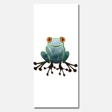 Friendly Frog with Orange Eyes Invitations