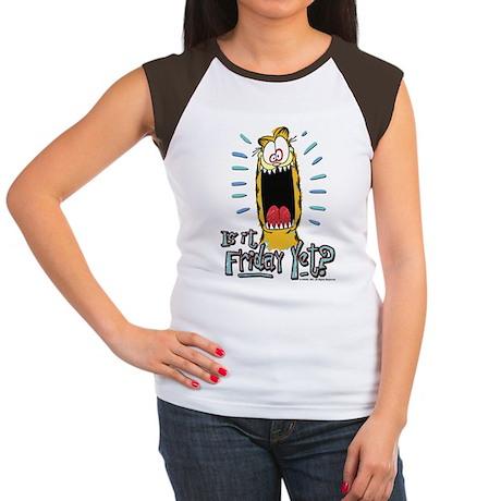 Friday Garfield Women's Cap Sleeve T-Shirt