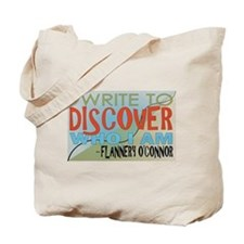Write To Discover-Color Tote Bag
