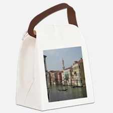 Romance in Venice Canvas Lunch Bag