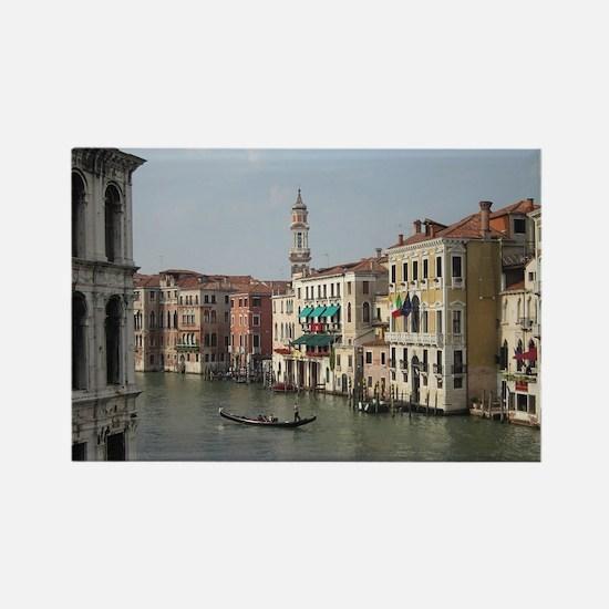 Romance in Venice Rectangle Magnet