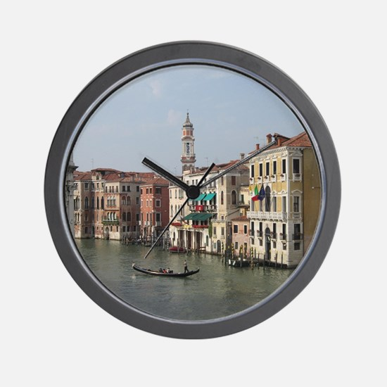 Romance in Venice Wall Clock