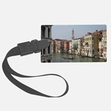 Romance in Venice Large Luggage Tag