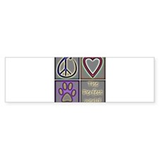 CafepressShopDesigns4-1 Bumper Bumper Sticker