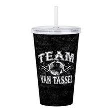 Team Van Tassel Acrylic Double-wall Tumbler