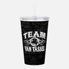 Team Van Tassel Acrylic Double-wall Tumbler