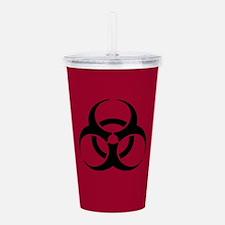 Biohazard Symbol Acrylic Double-wall Tumbler