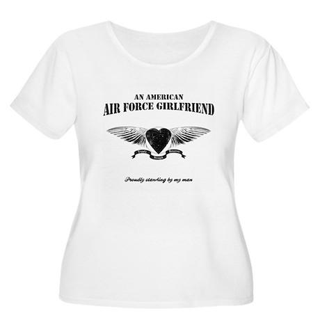 An American Air Force GF Women's Plus Size Scoop N