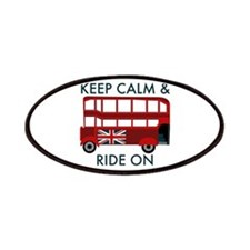Keep Calm & Ride On Patches