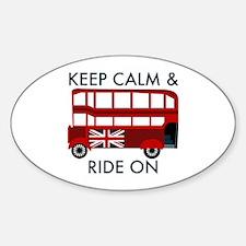 Keep Calm & Ride On Decal