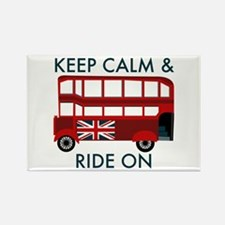 Keep Calm & Ride On Magnets