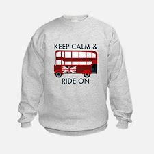 Keep Calm & Ride On Sweatshirt