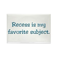 Recess gifts for teachers Rectangle Magnet (100 pa