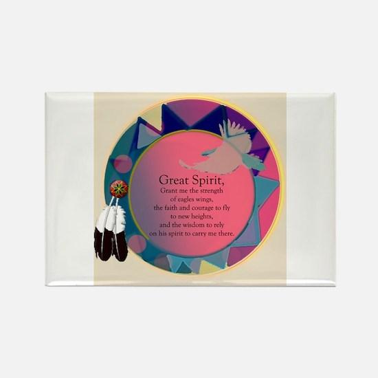 New Spirit Rectangle Magnet (10 pack)