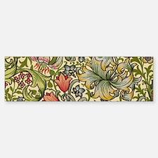 William Morris Golden Lily Bumper Bumper Sticker