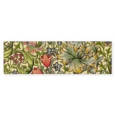 William Morris Golden Lily Bumper Sticker