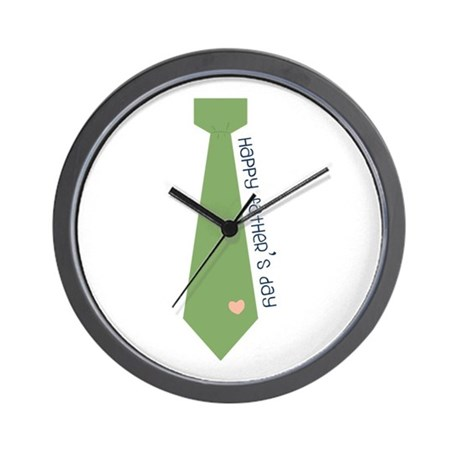 Fathers Day Wall Clock by concord19