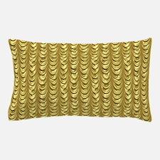 Cute Gold leaf Pillow Case