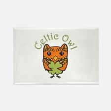 Celtic Owl Magnets