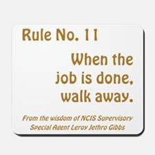 RULE NO. 11 Mousepad